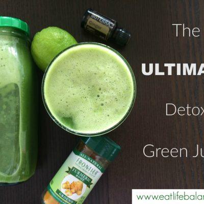 The Ultimate Detox Green Juice