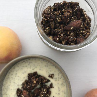 Seed Cycling & Paleo Chocolate Granola