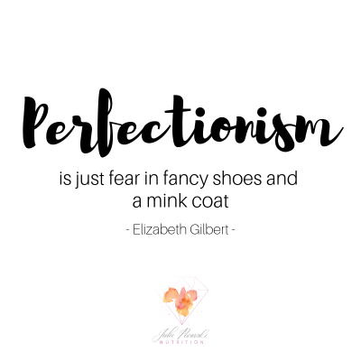 How Perfectionism Made Me Exhausted, Fat & Inflamed